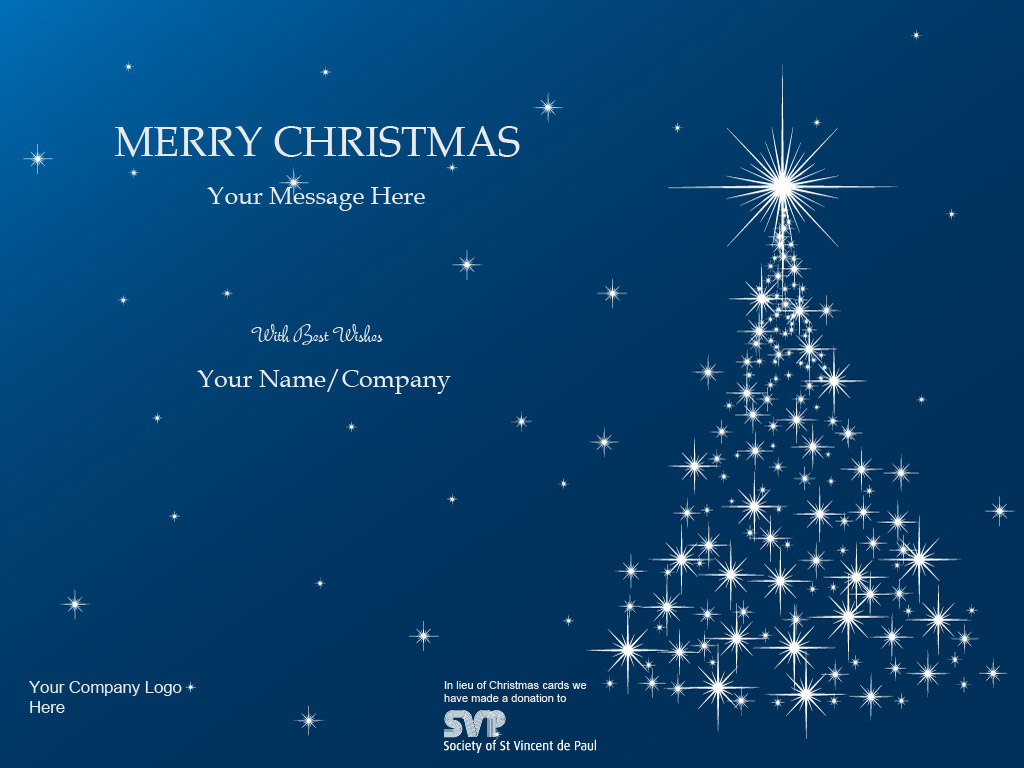 Corporate Ecards St Vincent De Paul