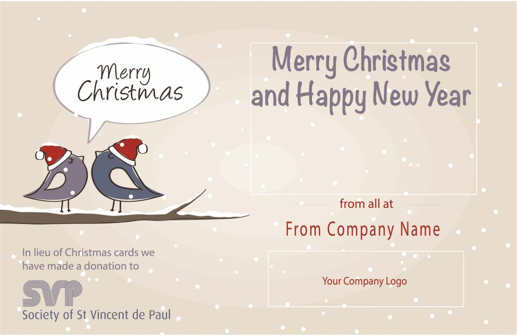 Charity Corporate Christmas Cards Caring Greetings - induced.info