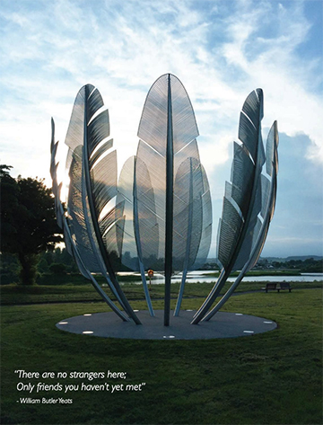 Feature Sculpture in Midleton Cork