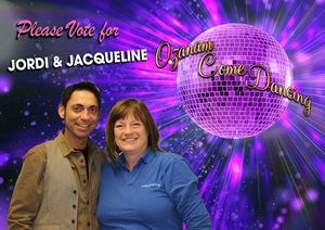 Jordi and Jacqueline Ozanam Come Dancing 2019