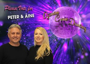 Peter and Aine Ozanam Come Dancing 2019